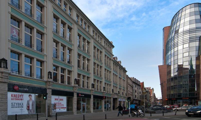 Lokal handlowo-usługowy - 575 m2 - Pasaż Pokoyhof