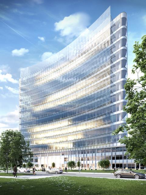 Lokal biurowy - 1466 m2 - Fabryczna