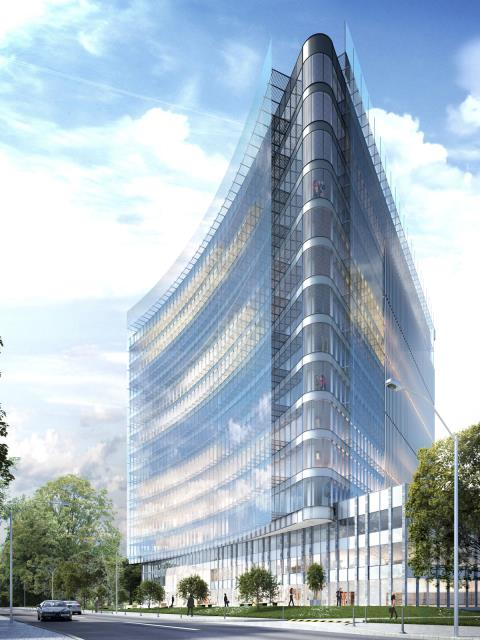 Lokal biurowy - 820 m2 - Fabryczna